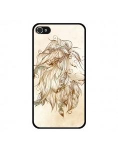 Coque Poetic Lion pour iPhone 4 et 4S - LouJah