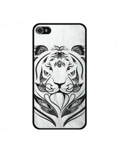 Coque Tattoo Tiger Tigre pour iPhone 4 et 4S - LouJah