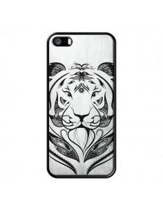 Coque Tattoo Tiger Tigre pour iPhone 5 et 5S - LouJah