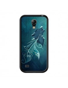 Coque Wolfeather Plume Loup pour Samsung Galaxy S4 Mini - LouJah