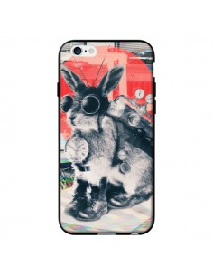Coque Lapin Time Traveller pour iPhone 6 - Ali Gulec