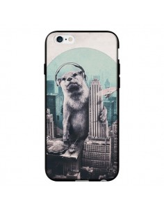 Coque Loutre Dj New York pour iPhone 6 - Ali Gulec