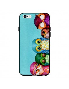 Coque Famille Chouettes pour iPhone 6 - Annya Kai