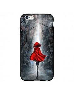 Coque Le Petit Chaperon Rouge Bois pour iPhone 6 - Annya Kai
