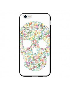 Coque Flower Skull Tête de Mort pour iPhone 6 - AlekSia