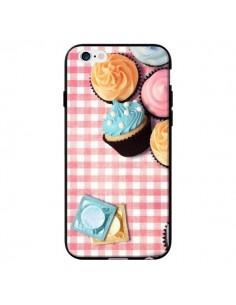 Coque Petit Dejeuner Cupcakes pour iPhone 6 - Benoit Bargeton