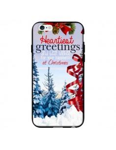 Coque Voeux Joyeux Noël pour iPhone 6 - Eleaxart