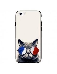 Coque Chat à lunettes françaises pour iPhone 6 - Gusto NYC