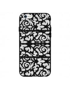 Coque Abstrait Noir et Blanc pour iPhone 6 - Irene Sneddon
