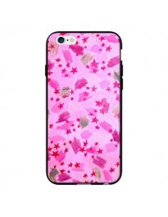 Coque Stars Etoiles Roses pour iPhone 6 - Ebi Emporium