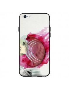Coque Bright Pink Femme pour iPhone 6 - Jenny Liz Rome