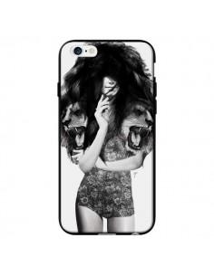 Coque Femme Lion pour iPhone 6 - Jenny Liz Rome