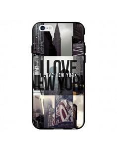 Coque I love New Yorck City noir pour iPhone 6 - Javier Martinez