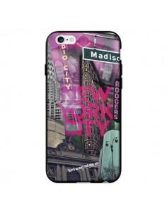 Coque New York City Rose pour iPhone 6 - Javier Martinez