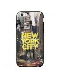Coque New York City Jaune pour iPhone 6 - Javier Martinez