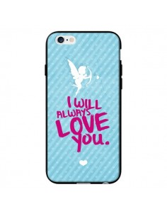 Coque I will always love you Cupidon pour iPhone 6 - Javier Martinez