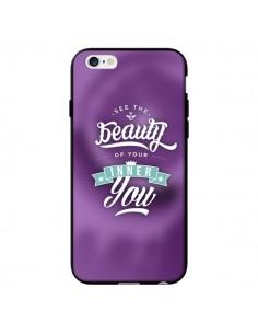 Coque Beauty Violet pour iPhone 6 - Javier Martinez