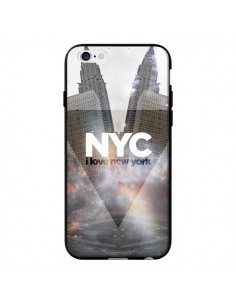 Coque I Love New York City Gris pour iPhone 6 - Javier Martinez