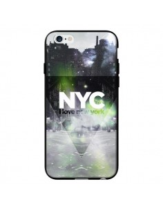 Coque I Love New York City Vert pour iPhone 6 - Javier Martinez