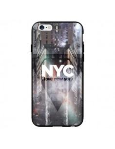 Coque I Love New York City Violet pour iPhone 6 - Javier Martinez