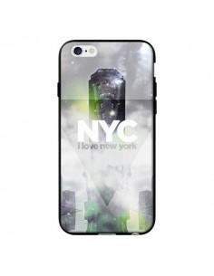 Coque I Love New York City Gris Vert pour iPhone 6 - Javier Martinez
