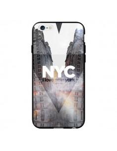 Coque I Love New York City Orange pour iPhone 6 - Javier Martinez