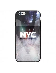 Coque I Love New York City Bleu pour iPhone 6 - Javier Martinez