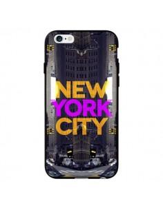 Coque New York City Orange Violet pour iPhone 6 - Javier Martinez