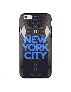 Coque New York City Bleu pour iPhone 6 - Javier Martinez
