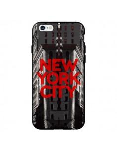 Coque New York City Rouge pour iPhone 6 - Javier Martinez