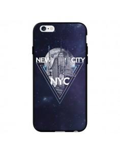 Coque New York City Triangle Bleu pour iPhone 6 - Javier Martinez