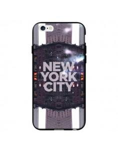 Coque New York City Violet pour iPhone 6 - Javier Martinez