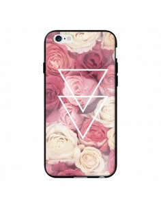 Coque Roses Triangles Fleurs pour iPhone 6 - Jonathan Perez