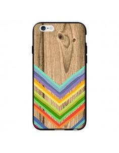 Coque Tribal Azteque Bois Wood pour iPhone 6 - Jonathan Perez