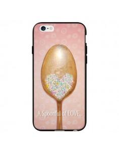 Coque Cuillère Love pour iPhone 6 - Lisa Argyropoulos