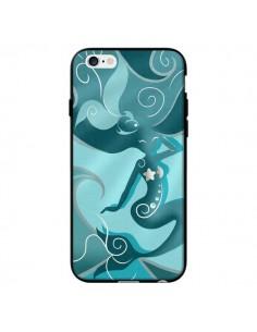 Coque La Petite Sirene Blue Mermaid pour iPhone 6 - LouJah