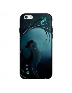 Coque Chat Clair de Lune Moonlight pour iPhone 6 - LouJah
