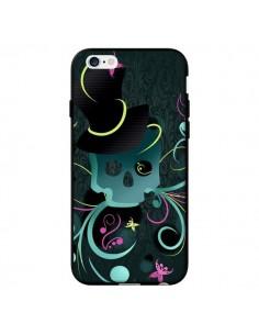 Coque Tête de Mort Papillon Skull pour iPhone 6 - LouJah
