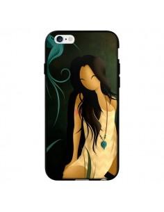 Coque Femme Indienne Pocahontas pour iPhone 6 - LouJah