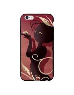Coque Femme Asiatique Love Coeur pour iPhone 6 - LouJah