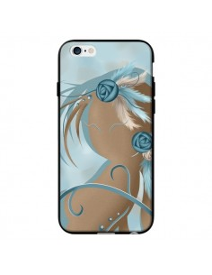 Coque Femme Plume Zoey Woman Feather pour iPhone 6 - LouJah