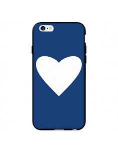 Coque Coeur Navy Blue Heart pour iPhone 6 - Mary Nesrala