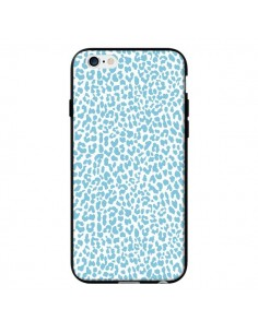 Coque Leopard Turquoise pour iPhone 6 - Mary Nesrala