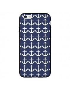 Coque Ancre Marin Bleu Anchors Navy pour iPhone 6 - Mary Nesrala