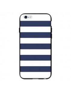 Coque Bandes Marinières Bleu Blanc Gaultier pour iPhone 6 - Mary Nesrala