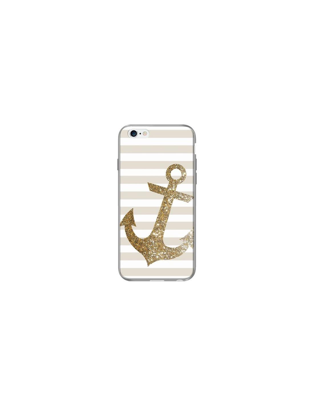 coque silicone iphone 6 ancre
