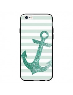 Coque Ancre Vert Navire pour iPhone 6 - Monica Martinez