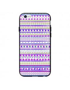 Coque Bandana Violet Azteque pour iPhone 6 - Monica Martinez