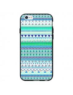 Coque Chenoa Bleu Azteque pour iPhone 6 - Monica Martinez