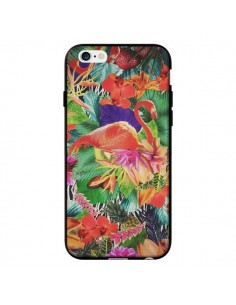 Coque Tropical Flamant Rose pour iPhone 6 - Monica Martinez
